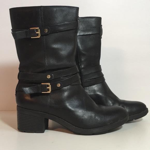 5a4b346be56 Black Bandolino Bdursal Mid Calf Boots 6.5